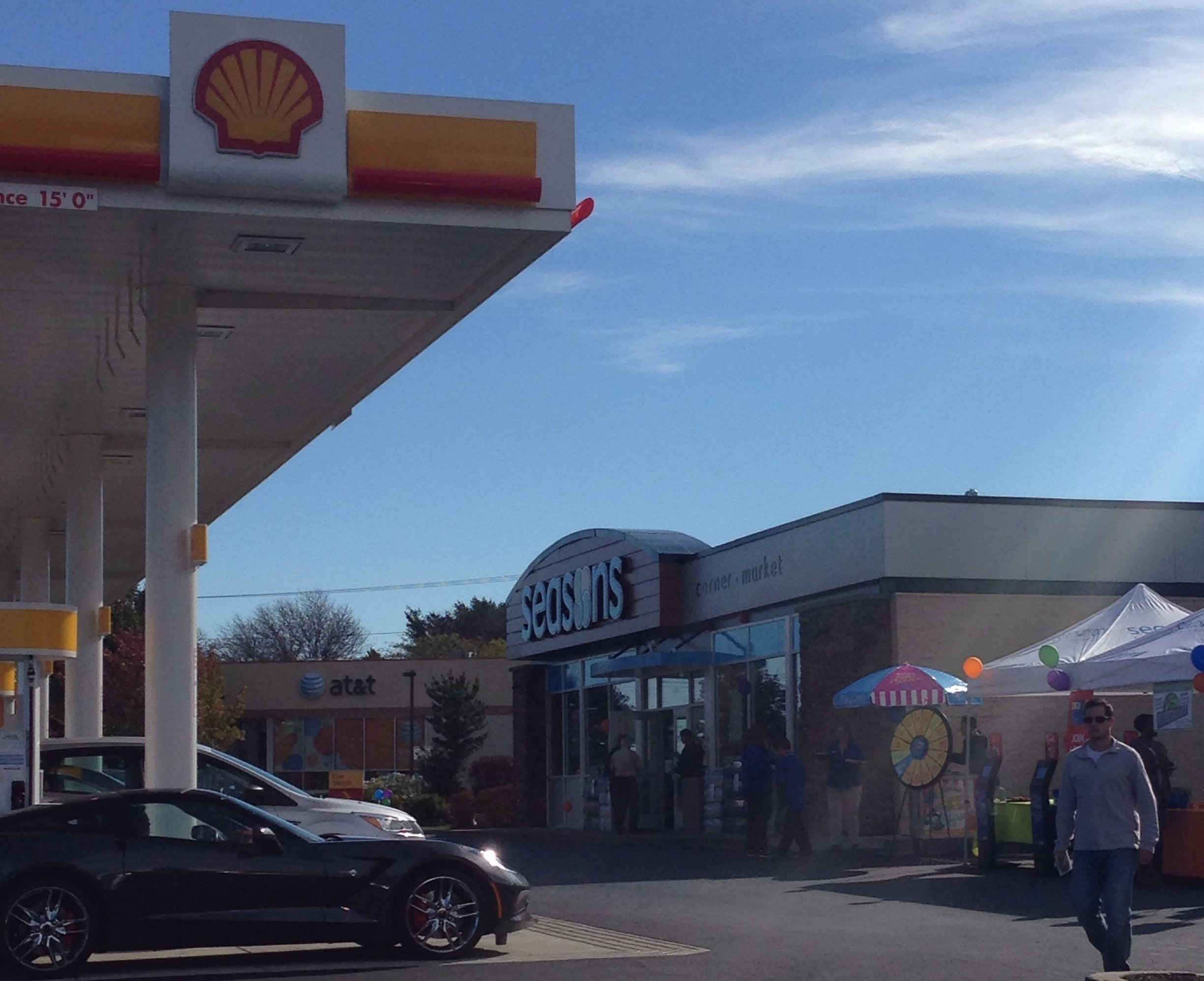 Colbea Shell Station Convenience Store Rhode Island Massachusetts